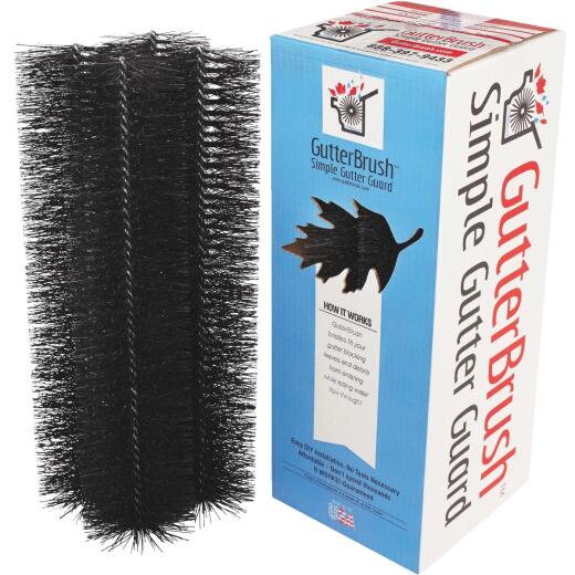 GutterBrush 6 Ft. Gutter Guard Pack - 4 In. x 18 In. Sections