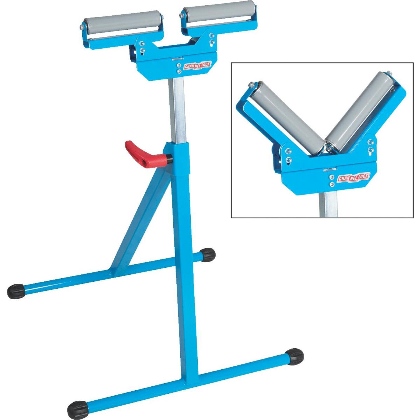 Channellock V-Style Roller Stand Image 1