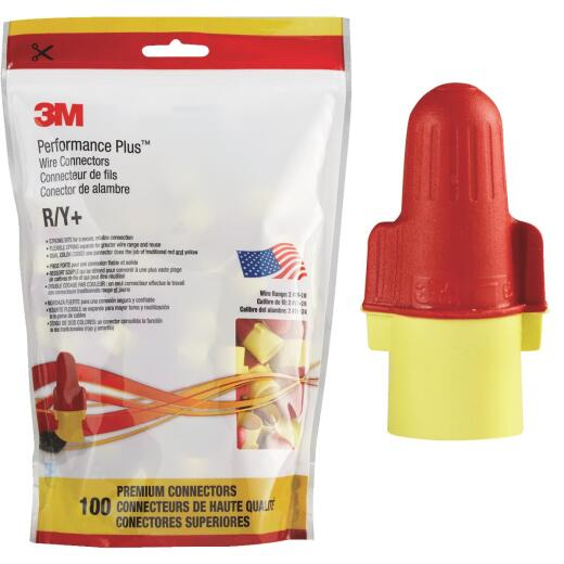 3M Performance Plus Medium Wire Connector (100-Pack)