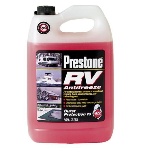 Prestone Gallon -50 Deg F RV and Marine Antifreeze