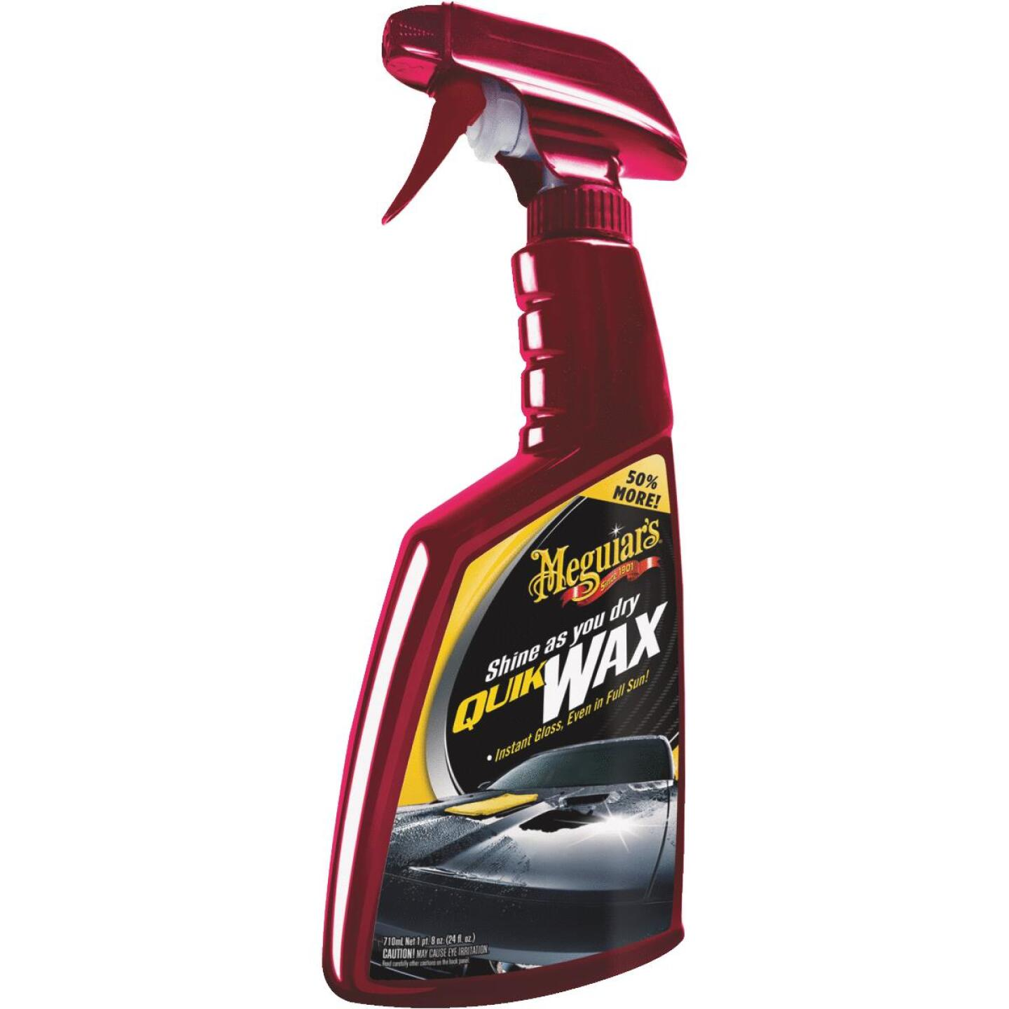 Meguiars Quik Wax 24 Oz. Trigger Spray Spray Car Wax Image 1