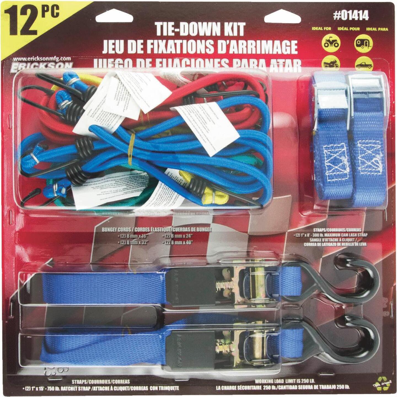 Erickson Assorted Tie-Down Set Image 2