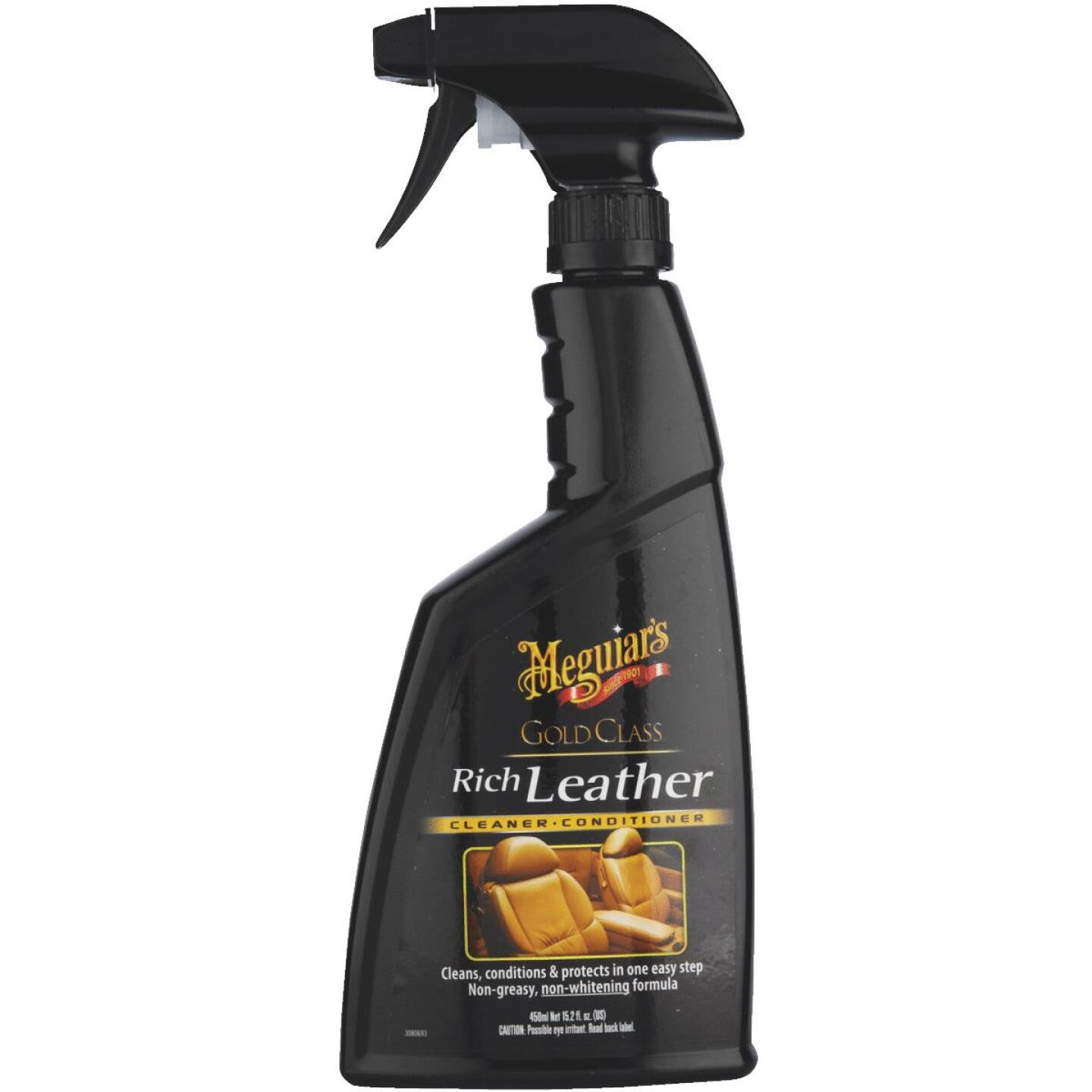Meguiars Gold Class 16 oz Trigger Spray Leather Cleaner Image 2