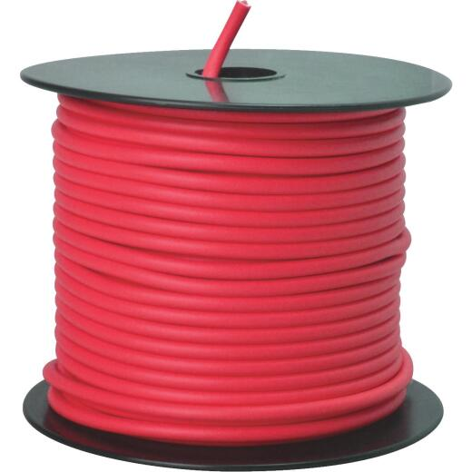 ROAD POWER 100 Ft. 12 Ga. PVC-Coated Primary Wire, Red