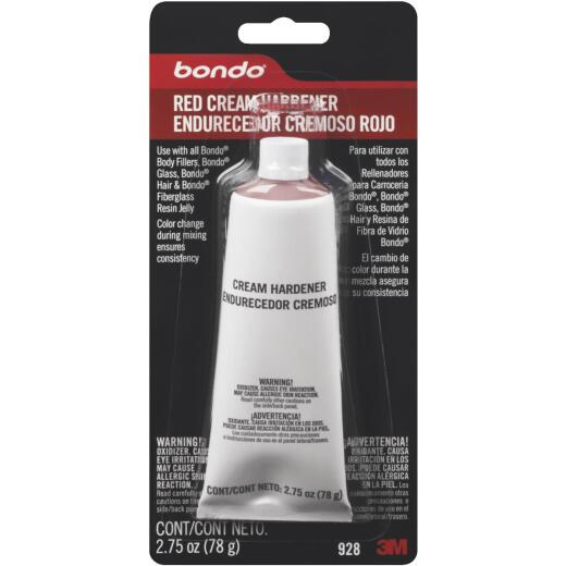3M Bondo 2.75 Oz. Red Cream Body Filler Hardener
