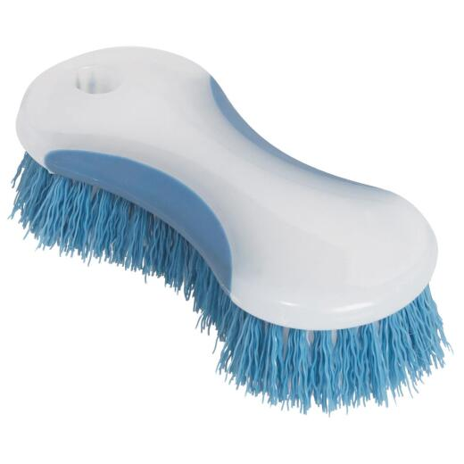 6-3/16 In. Polypropylene Bristle Curved Scrub Brush