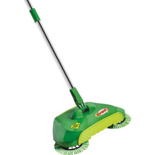 Libman SpiralSweep 12 In. W. x 45 In. L. Steel Handle Broom