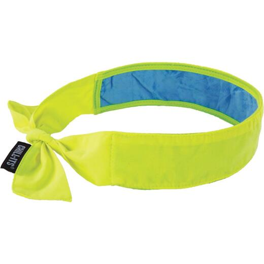 Ergodyne Chill-Its Headband High-vis Lime Cooling Bandana