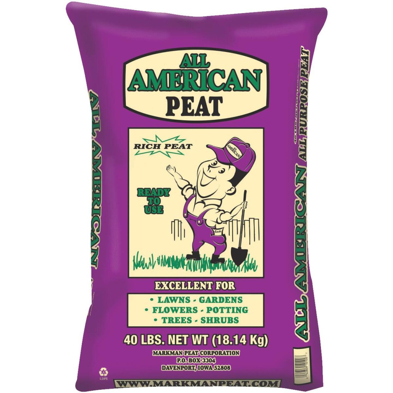 All American 40 Lb. 4 Sq. Ft. Organic Sphagnum Peat Moss Image 1