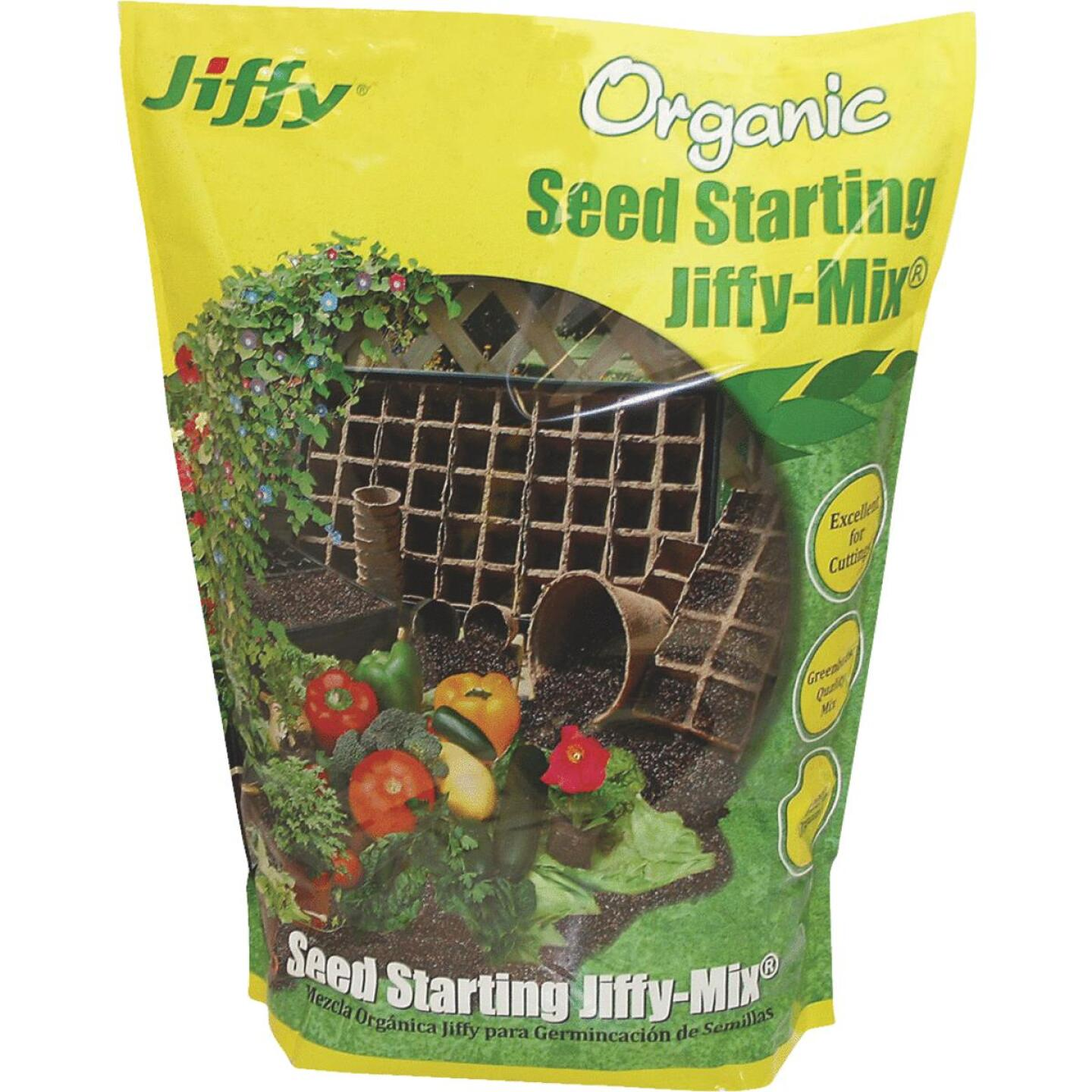 Jiffy 16 Qt. All Purpose Container Organic Seed Starting Mix Image 1