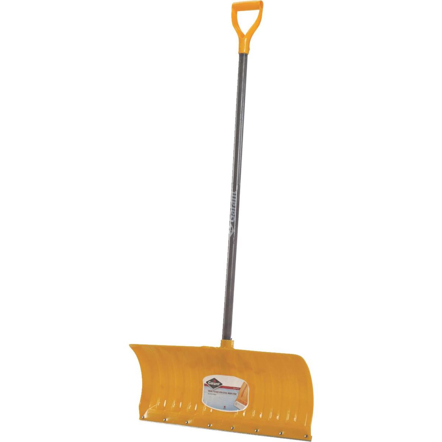 Garant Alpine 26 In. Poly Snow Pusher with 46.25 In. Wood Handle Image 1
