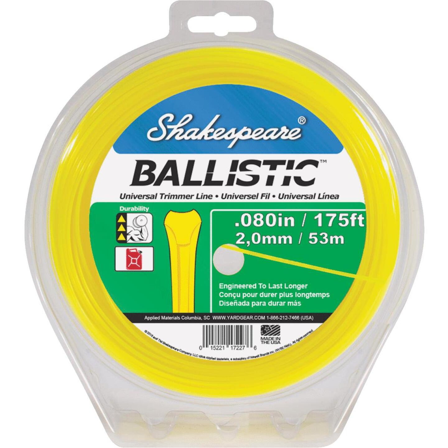 Shakespeare Ballistic 0.080 In.x 210 Ft. Universal Trimmer Line Image 1
