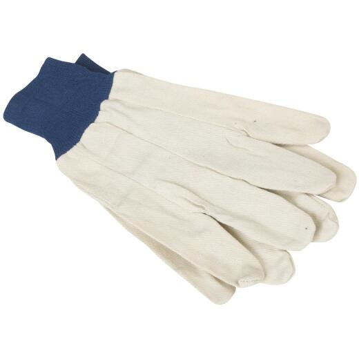 Do it Men's Large Cotton Canvas Work Glove