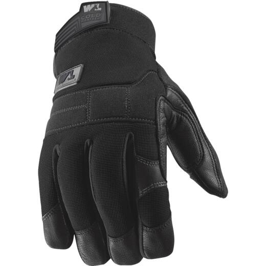 Wells Lamont FX3 HydraHyde Men's Large Leather Grain Goatskin Insulated Work Glove