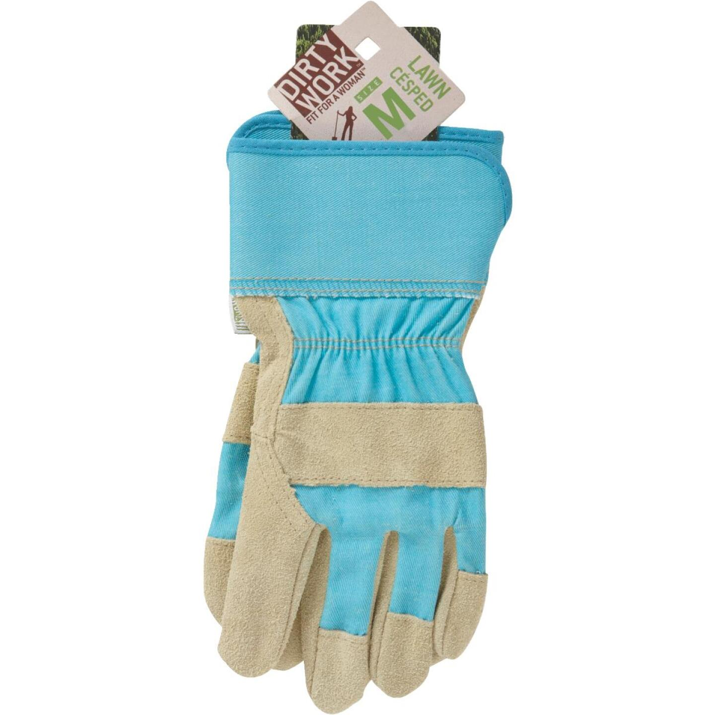 West Chester Protective Gear Dirty Work Women's Medium Leather Work Glove Image 3