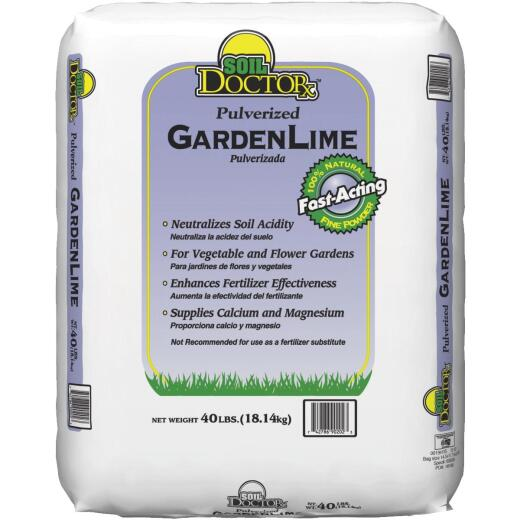 Soil DoctorX 40 Lb. 1000 Sq. Ft. Coverage Pulverized Lawn Lime