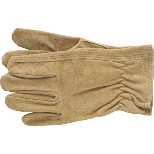 Do it Best Men's Medium Suede Leather Work Glove