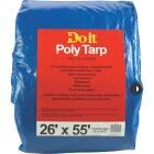 Do it Blue Woven 26 Ft. x 55 Ft. Medium Duty Poly Tarp Image 1