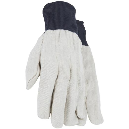 Do it Men's Large Cotton Canvas Work Glove (6-Pack)