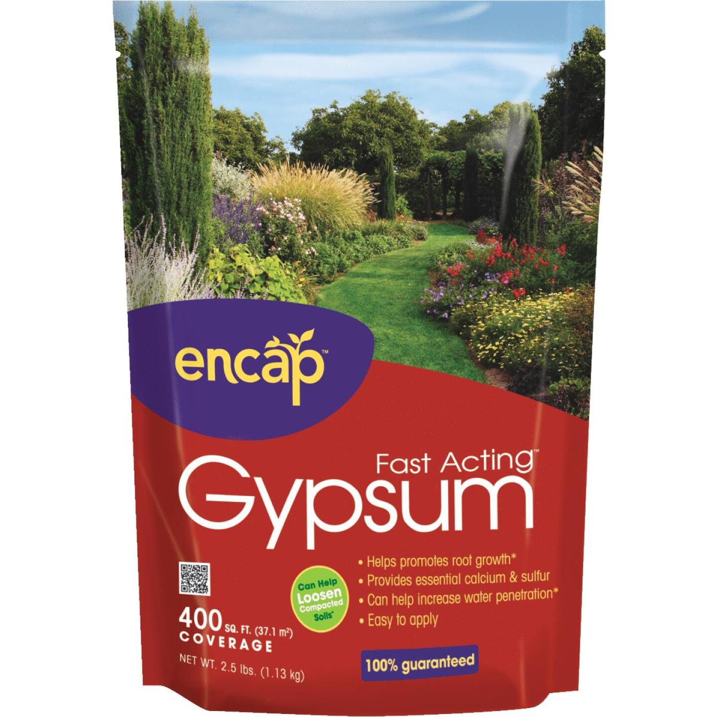 Encap 2.5 Lb. 400 Sq. Ft. Coverage Fast Acting Gypsum Image 1
