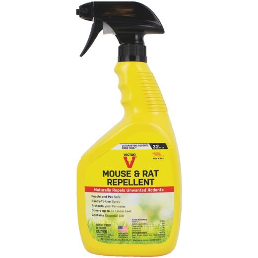 Victor 32 Oz. Ready To Use Trigger Spray Rat & Mouse Repellent