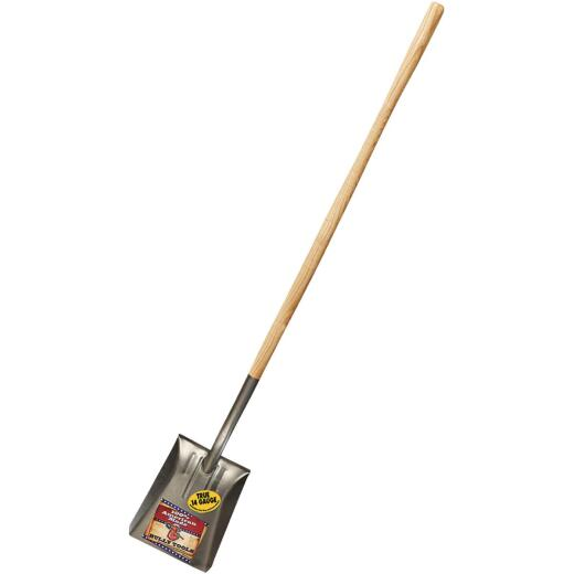 Bully Tools 46 In. Wood Handle Square Point Shovel