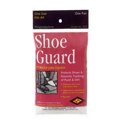 Trimaco SuperTuff 1 Sizr Fits Most Polypropylene White Shoe Guard Cover